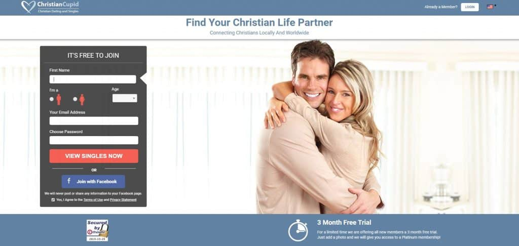 Christian Cupid - free christian dating