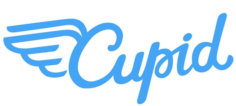 Cupid dating review logo