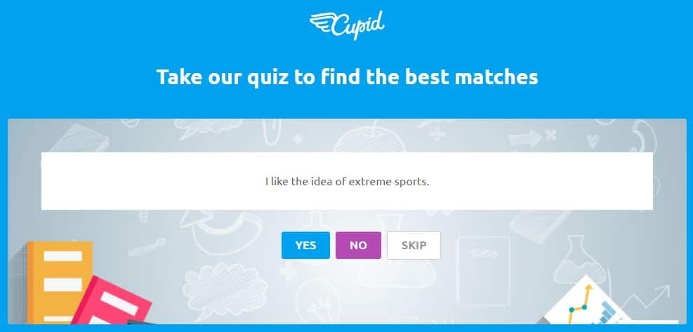 cupid.com love quiz