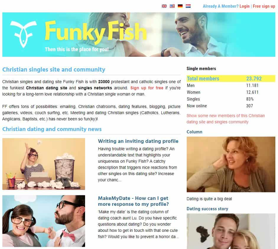 Funky Fish - free Christian dating