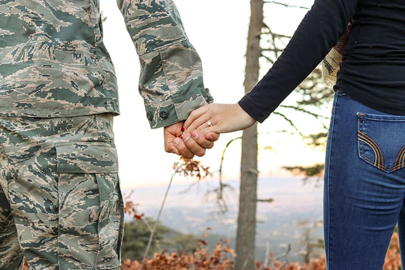 long distance relationships - military deployment