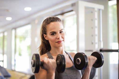 Attracting woman at the gym