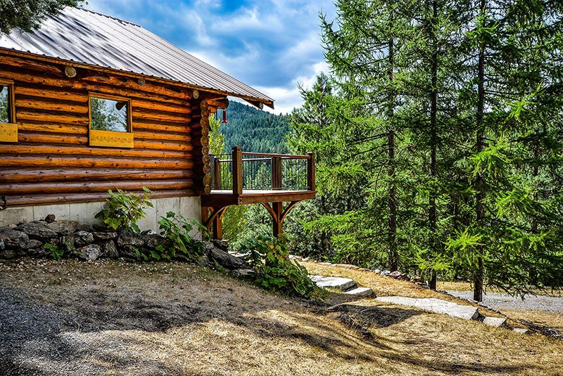 Cabin in the woods bachelor party destination