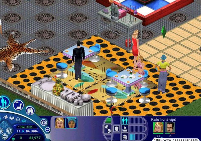 House Party - online dating sims