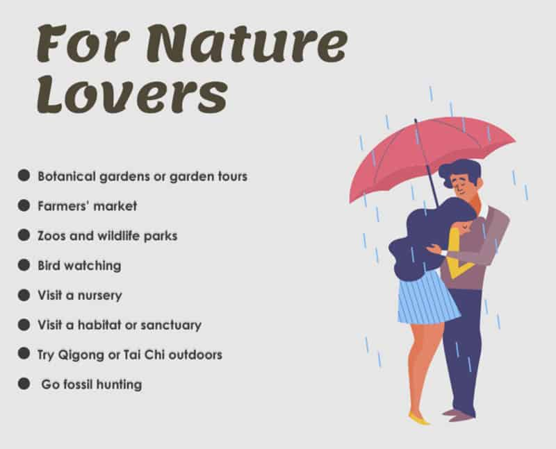 Nature lover first date ideas