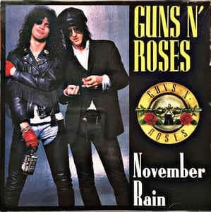 Guns N Roses - best rock love songs