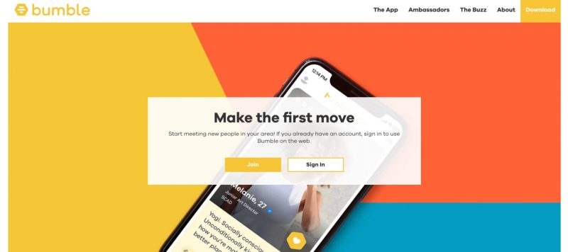 Bumble - best teen dating apps