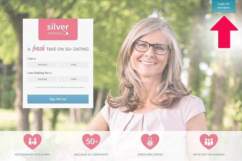 Silver Singles dating site